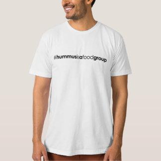 Men's Organic #hummusisafoodgroup T-Shirt
