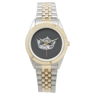 Mens Pageant Queens Crown Watch