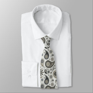 Mens Paisley Pattern Neck Tie