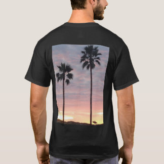 Men's Palm Tree and Surfer T-shirt
