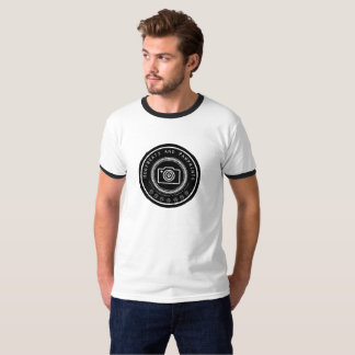Mens Pawprint Camera Logo T-Shirt