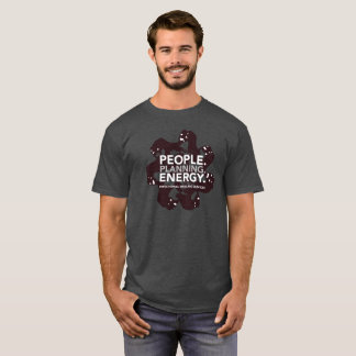 Men's People. Planning. Energy Drill Bit T-shirt
