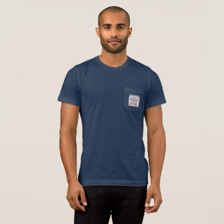 Men's pocket T-Shirt with SS Reminder Graphic