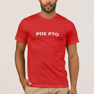 MENS POE PTO VOLUNTEER SHIRT