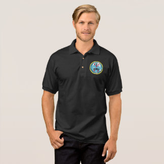 Mens Polo shirt GDA Logo(multiple Color Choices)