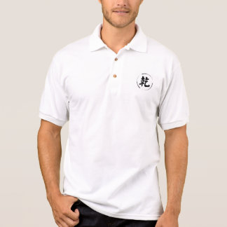 men's Polo style shirt with  creativepower symbol