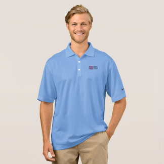 Men's polo with logo