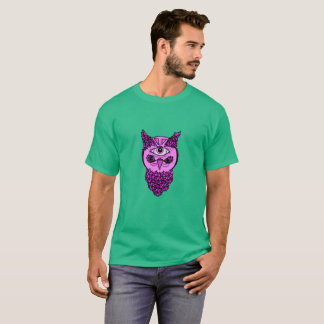 Men's Pop Art Owl Shirt