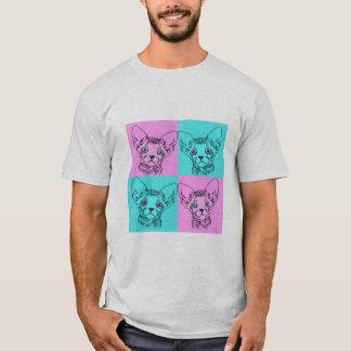 Men's Pop Art Sphynx Kitten Shirt