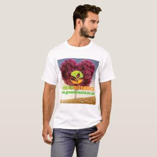Mens Printed T-Shirt - Green Botanics