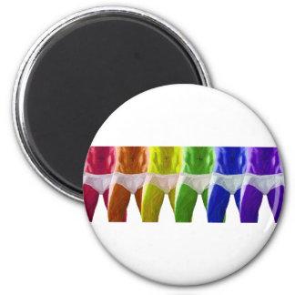 Men's Rainbow Underwear Magnet
