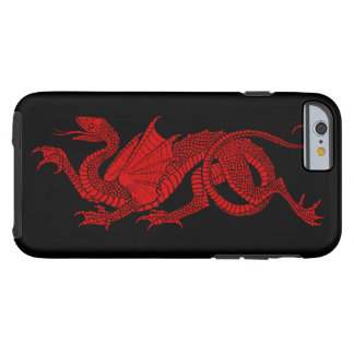 Men's Red Dragon iPhone 6 Case