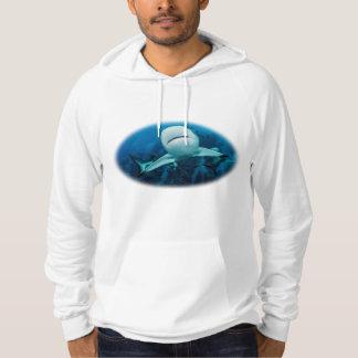 Mens Reef Shark Hoodie