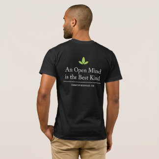 Men's Relaxed Cannatopia Open Mind Back Tee