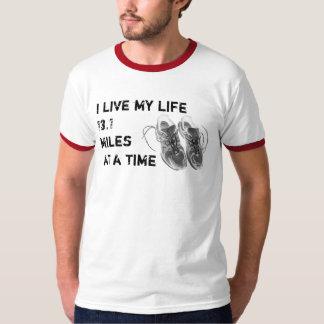 Men's Ringer - I live my life 13.1 miles at a time T-Shirt