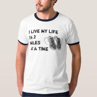 Men's Ringer - Life 26.2 miles at a time T-Shirt