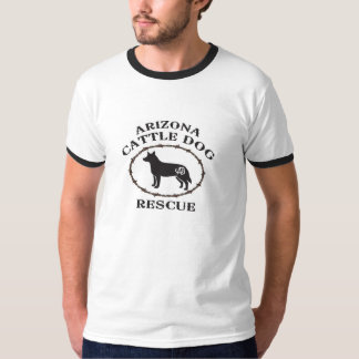 Men's Ringer T Arizona Cattle Dog Rescue T-Shirt