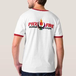 Men's Ringer T-Shirt (Phoenix Fire)