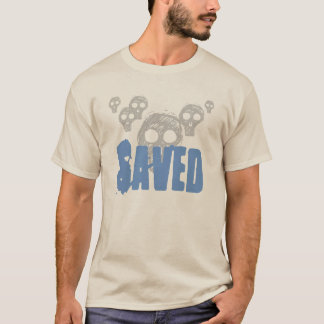 Men's Shirt-Skulls Saved T-Shirt