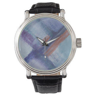 Men's Stainless Steel Blue Designer Watch by DAL