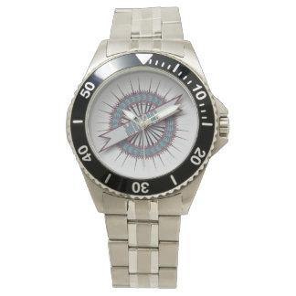 Men's Stainless Steel Bracelet Watch MUSIC CIRCLE