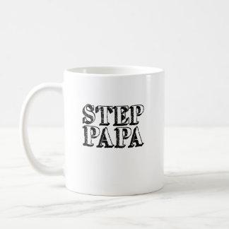 Mens Step Papa Bear Father's Day Coffee Mug