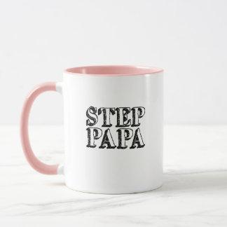 Mens Step Papa Bear Father's Day Mug
