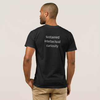 """Men's - """"sustained intellectual..."""" T-Shirt"""