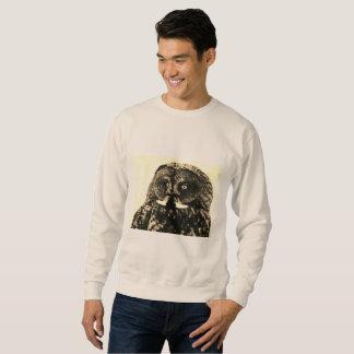 MEN'S SWEATSHIRT - GRAY OWL