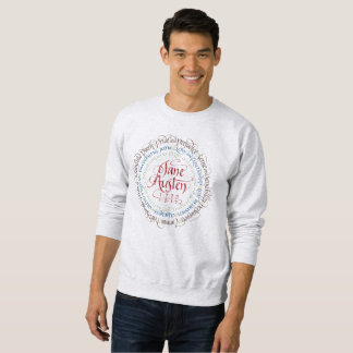Men's Sweatshirt Jane Austen Period Dramas Darcy