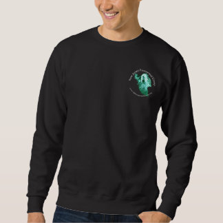 Mens Sweatshirt with front and back logos