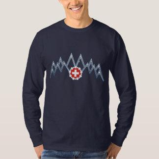 Men's Swiss Alps Long Sleeve Shirt