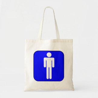 Mens Symbol Budget Tote Bag
