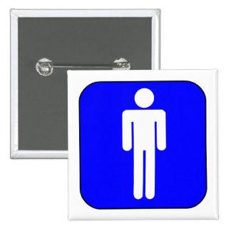Mens Symbol Button