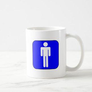 Mens Symbol Classic White Coffee Mug