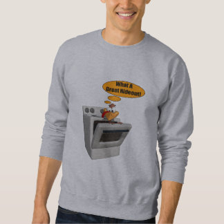 Mens T-Shirt - Funny Turkey Hideout