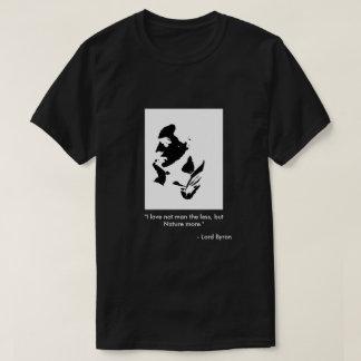 Mens T-Shirt - Lord Byron, Poetry