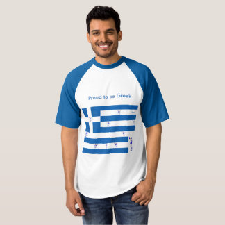 Men's T-Shirt Proud to be Greek