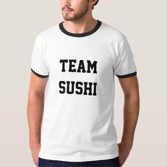 "Men's T Shirt ""Team Sushi"""