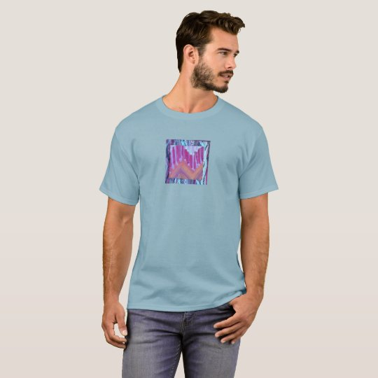 Men's t-shirt with abstract design