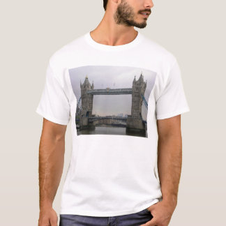 Mens T Shirt with Tower Bridge over the Thames
