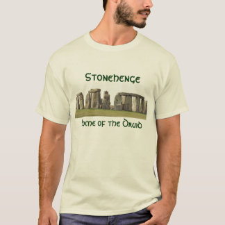 Men's T - Stonehenge, Home of the Druid T-Shirt