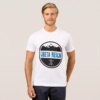 Men's T With Blue Greta Reign Logo Various Colours T-Shirt