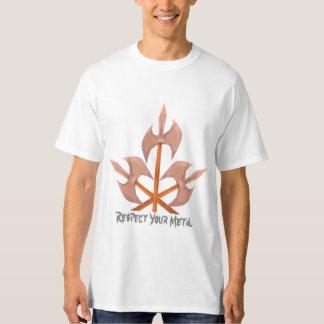 Men's Tall Hanes T-Shirt three battle axes print