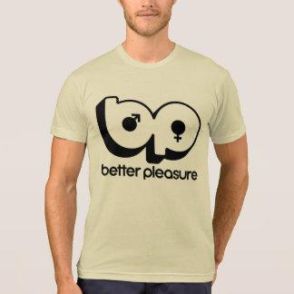 Mens Tan Better Pleasure T-Shirt
