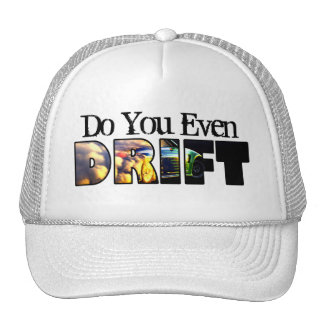 Men's Teenage Boys Do You Even Drift Car Trucker Hat