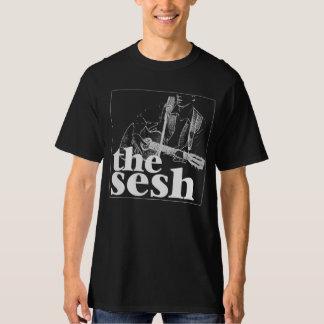 """Men's """"the sesh"""" Logo Black T-Shirt"""