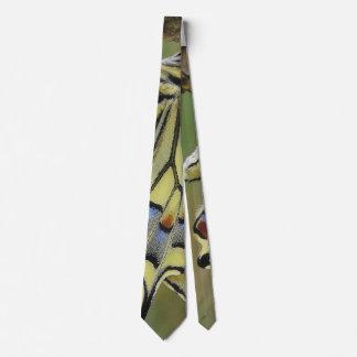 Men's Tie with Butterfly Wing Pattern