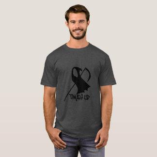 Men's Times Up Grim Basic Dark T-Shirt