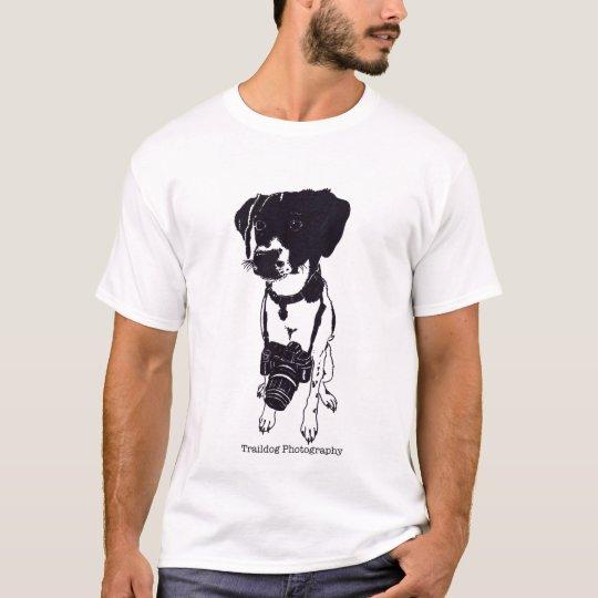 Men's Trail dog logo shirt